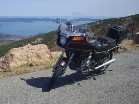 My 1982 Honda Silverwing GL500 Interstate