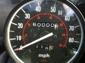 60,000 miles