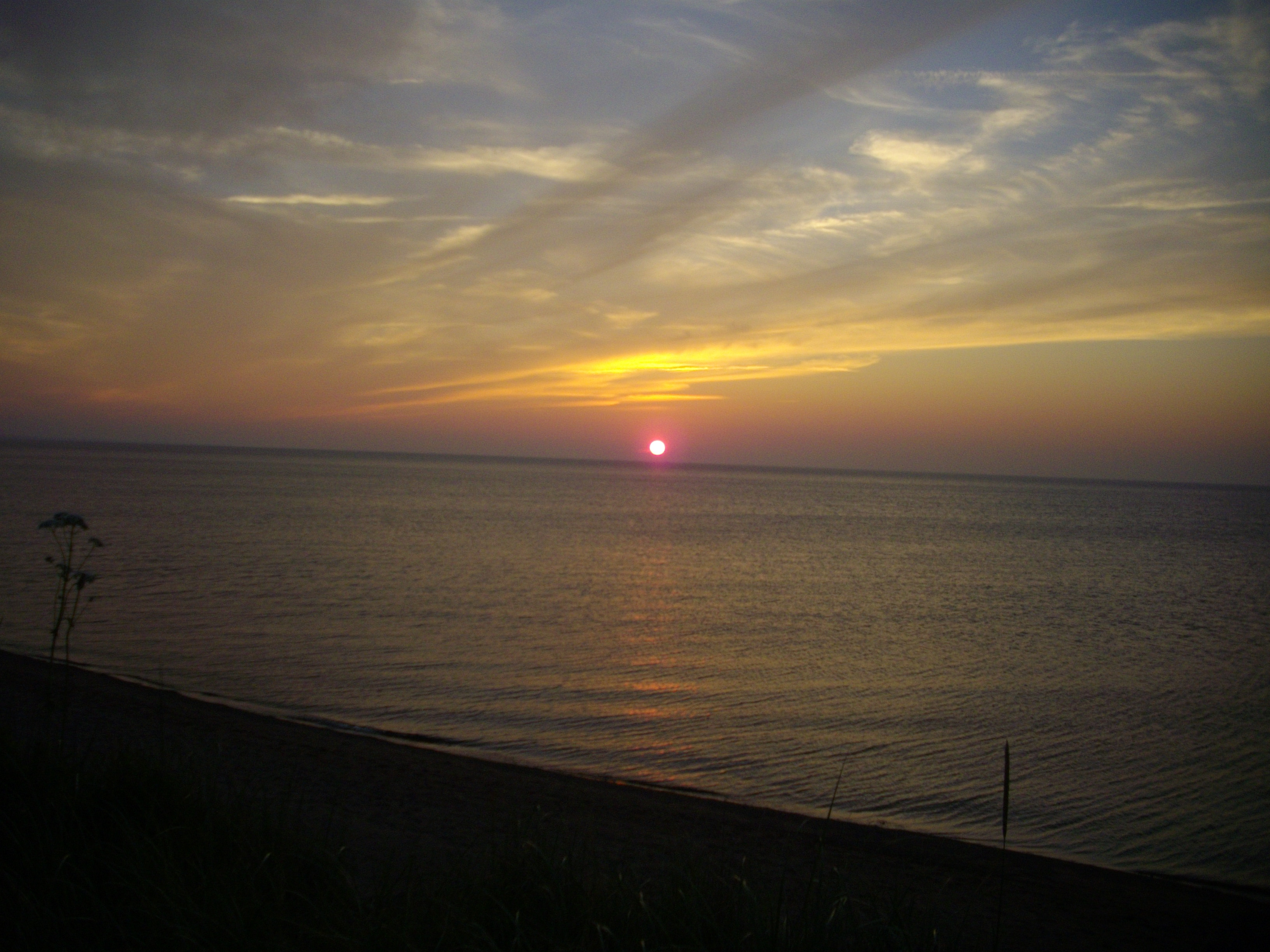 Sunset over the Northumberland Strait